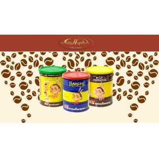 gemahlener Kaffee in Dosen