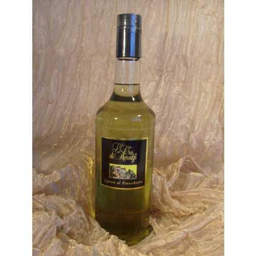 Fenchel Likör aus Amalfi - Finocchietto - 1,0 Liter - 30 vol. - Flasche: Cristal - LOro di Amalfi
