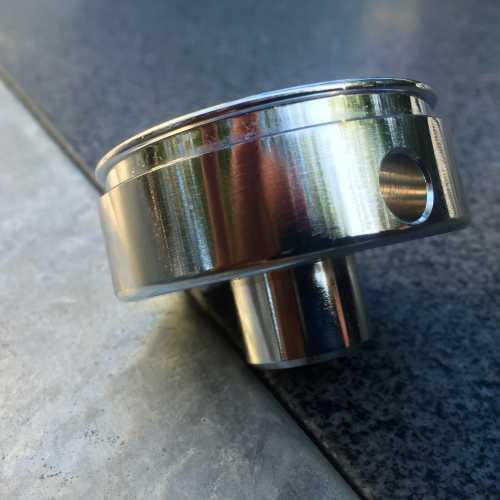 Zubehör zur Pinocchio - Unterer Padhalter aus Metall (ersetzt schwarzes ABS) - Spinel