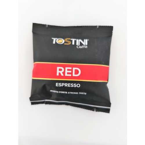 Red Espresso - Gusto forte - 10% Arabica und 90% Robusta - Cialde - Pads - 150 Stück - Tostini Caffe