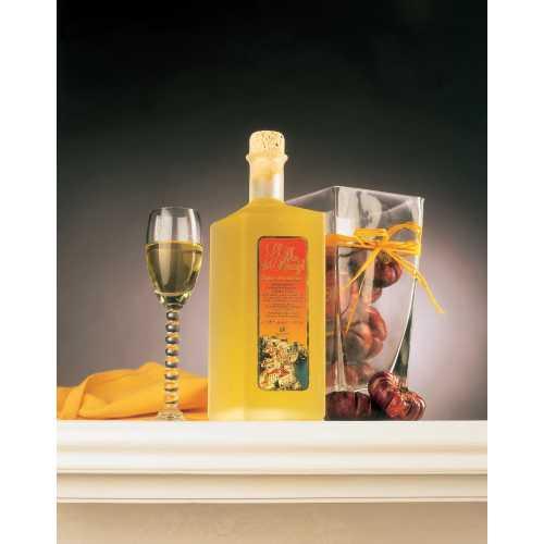 Mandarinen Likör aus Amalfi - Mandarino - 0,5 Liter - 30 vol. - Flasche: Rombo - LOro di Amalfi