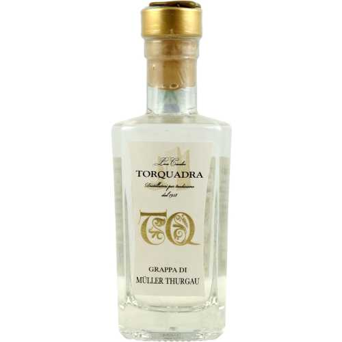 Grappa Trentina di Müller Thurgau - 0,5 Liter - 40 vol. - in der Metalldose - Torquadra