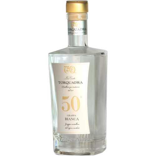 Grappa Torquadra Bianca - 0,5 Liter - 50 vol. - Torquadra