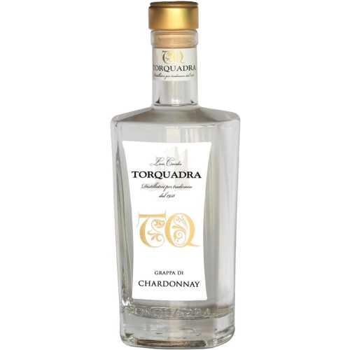 Grappa Trentina di Chardonnay TQ - 0,7 Liter - 40 vol. - Torquadra