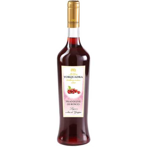 Waldbeeren Likör - Fragoline di Bosco - 0,7 Liter - 28 vol. - Torquadra