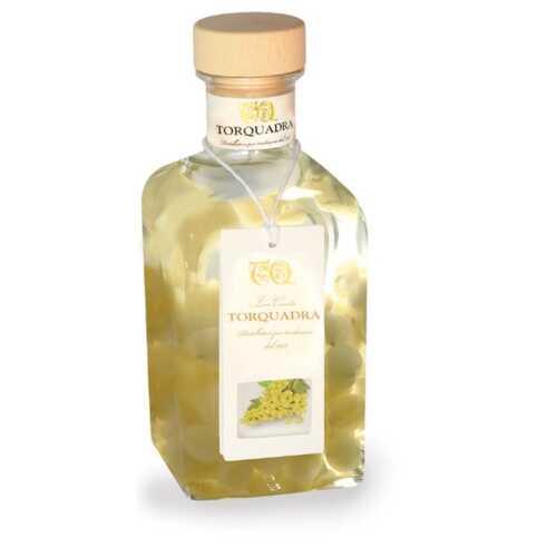 Grappa mit Trauben - Uva di Moscato - 0,5 Liter - 21 vol. - in der Geschenk-Verpackung - Torfrutta - Torquadra