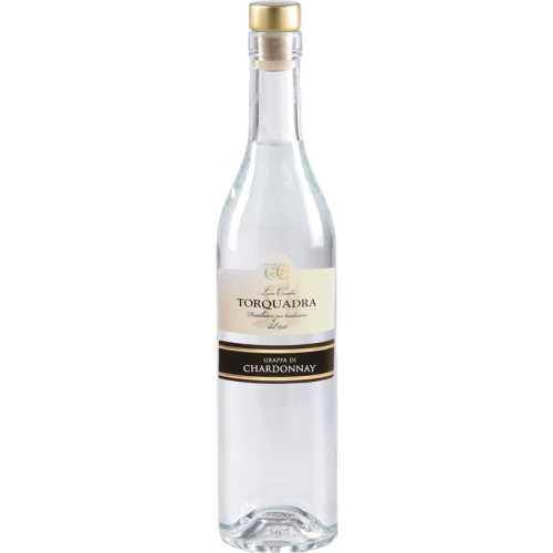 Grappa Trentina Chardonnay - Cilindrica - 0,7 Liter - 40 vol. - Torquadra