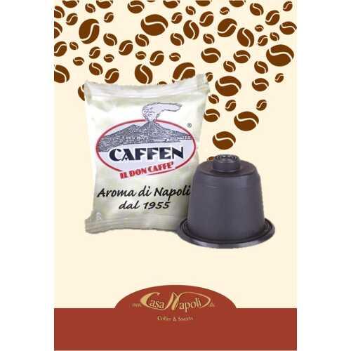 Oro / Gold - kompatible Kaffeekapseln für Nespresso® - Maschinen - 10 Stück - Caffen Caffe