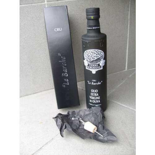 Le Barche Cru - Extra Natives Olivenöl - 0,5 Liter - Oliven-Öl - Terre Bormane