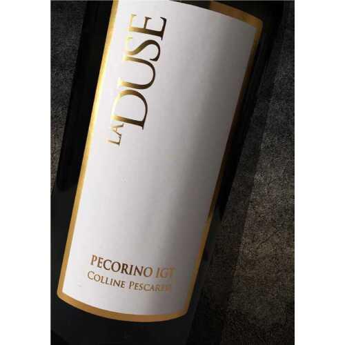 Pecorino - La Duse 2017 - IGT Pescaresi - Weißwein - Paolucci