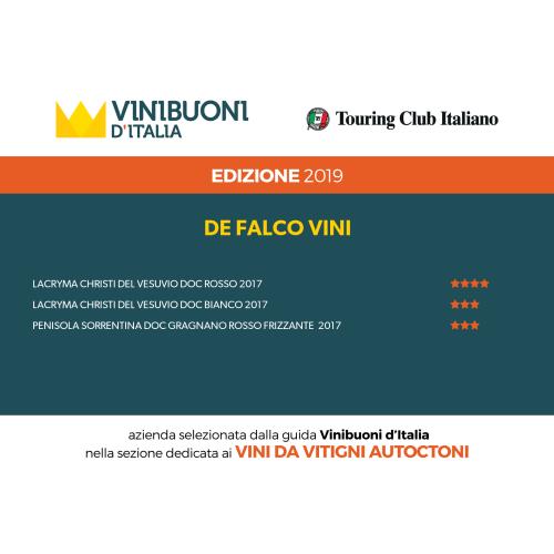 Lacryma Christi del Vesuvio Bianco - DOC Campania 2017 - Weißwein - De Falco