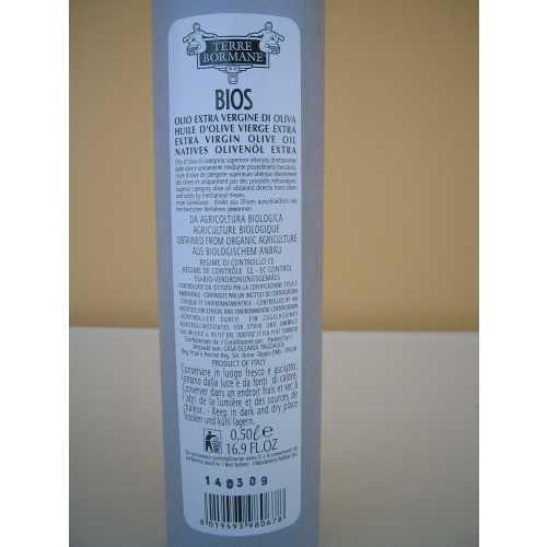 Bios da agricoltura biologica - Extra Natives Olivenöl - 0,5 Liter - in Papier - Oliven-Öl - Terre Bormane