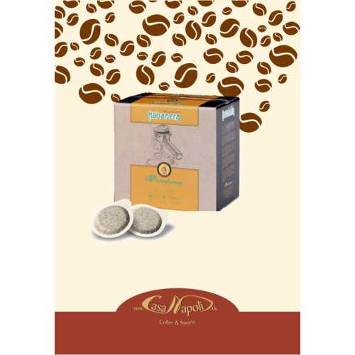 Habanera (ehem. Cremador) - 80% Arabica und 20% Robusta - Cialde - Pads - 50 Stück - Passalacqua Caffe