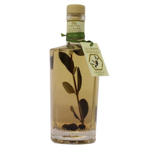 Oliven-Grappa - Grappa all Oliva - 0,5 Liter - 40 vol. - Torquadra