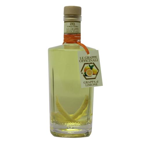 Zitronen-Grappa - Grappa al Limone - 0,5 Liter - 40 vol. - Torquadra