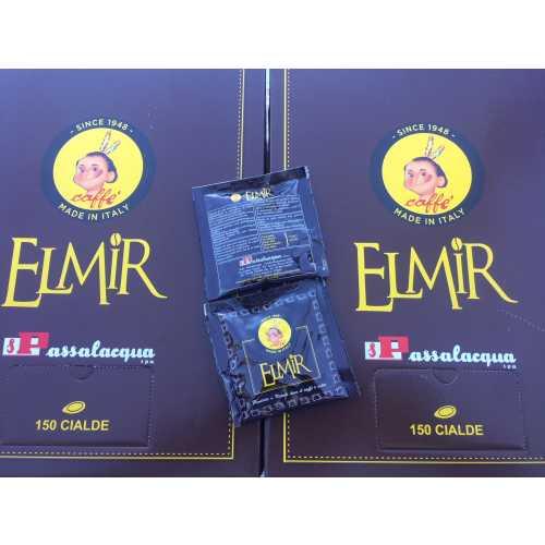 Elmir - 20% Arabica und 80% Robusta - Cialde - Pads - 10 Stück - Passalacqua Caffe