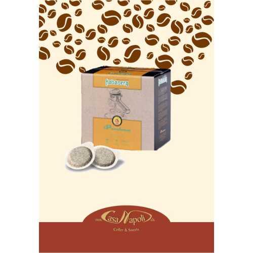 Habanera (ehem. Cremador) - 80% Arabica und 20% Robusta - Cialde - Pads - 200 Stück Großpackung - Passalacqua Caffe