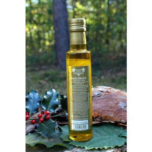 Bianco Bosco - 0,25 Liter - Oliven-Öl mit weißen Trüffeln - Terre Bormane