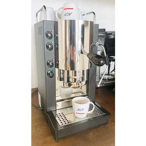 g: Pinocchio CV - Schwarz-Edelstahl - Volumetrico - Kaffee und Dampf - Spinel