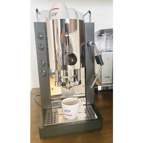 m: Pinocchio CV - Schwarz-Edelstahl - XL - Padhalter - Kaffee und Dampf - Spinel