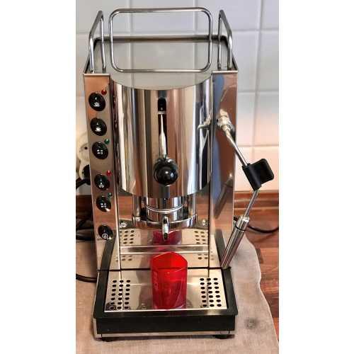 r: Pinocchio CV - Edelstahl komplett - XL - Volumetrico - Padhalter - Kaffee und Dampf - Spinel