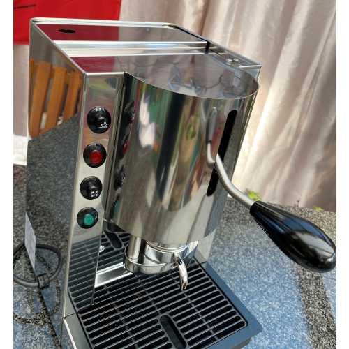 l: Pinocchio C - Edelstahl komplett - Padhalter - Kaffee - Spinel