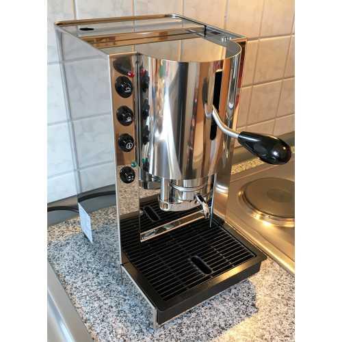 r: Pinocchio C - Edelstahl komplett - XL - Volumetrico - Padhalter - Kaffee - Spinel