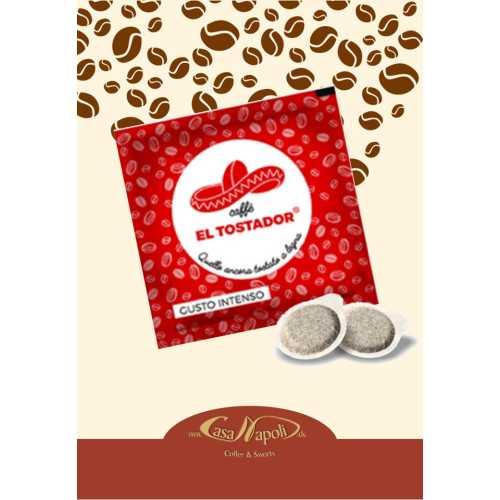 Intenso - 100% Robusta - Holzröstung - Cialde - Pads - 150 Stück - El Tostador Caffe