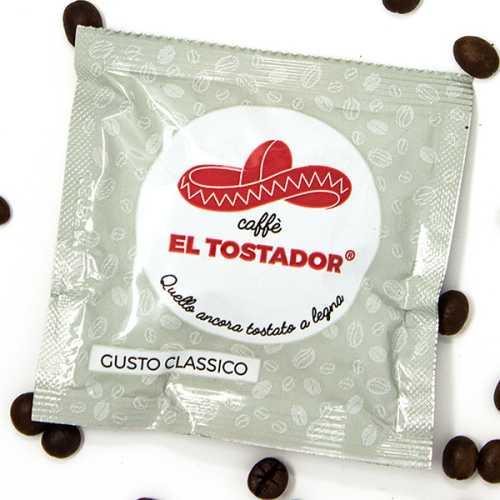Classico - 30% Arabica und 70% Robusta - Holzröstung - Cialde - Pads - 150 Stück - El Tostador Caffe