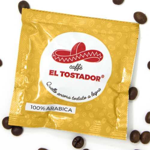 100% Arabica - Holzröstung - Cialde - Pads - 150 Stück - El Tostador Caffe