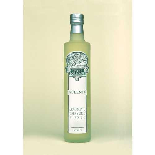 Aulente - weißer Balsamico Essig - 0,5 Liter - Terre Bormane