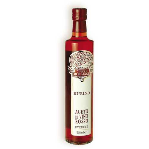 Rubino - Rotwein Essig - 0,5 Liter - Terre Bormane