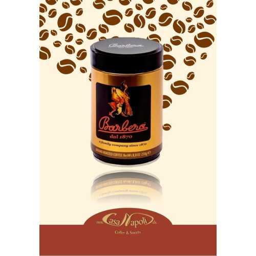 Mago - gemahlener Kaffee in der Dose - 0,25 Kilogramm - Barbera Caffe