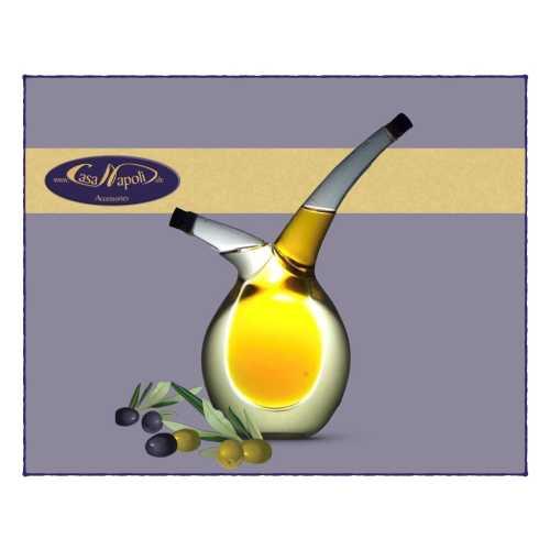 Olivenöl- und Essig-Karaffe - Ballon - 200 und 70 ml - CasaNapoli