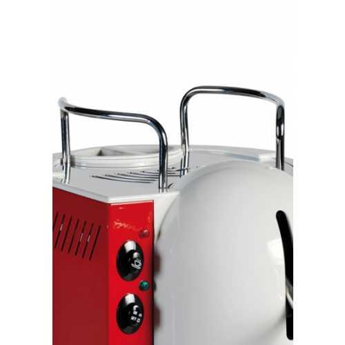 k: Lolita Elite CA - Schwarz-Weiß - Tassengestell - Kaffee und Heißwasser - Spinel
