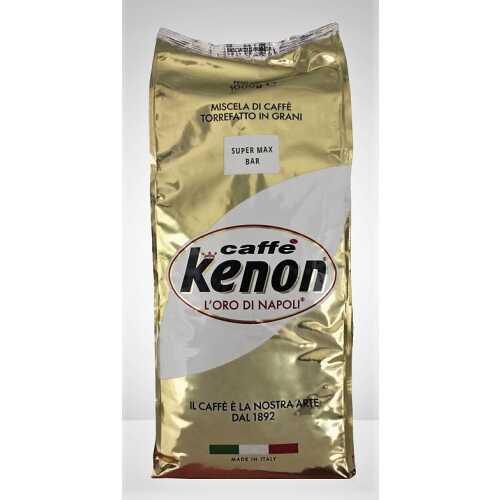 Super Max Bar - 90% Arabica und 10% Robusta - Kaffee in Bohnen - 1,0 Kilogramm - Kenon Caffe