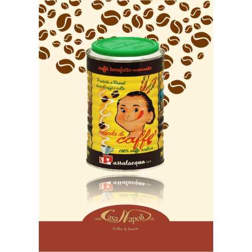 Mekico - 100% Arabica - gemahlener Kaffee in der Dose - 0,5 Kilogramm - Passalacqua Caffe