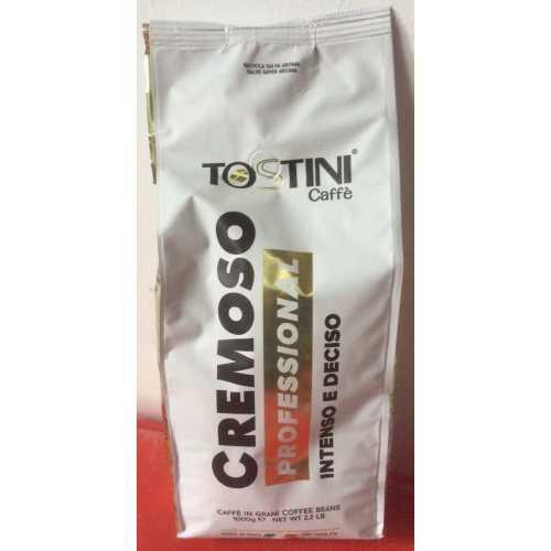Cremoso - Kaffee in Bohnen - 1 Kilogramm - Tostini Caffe