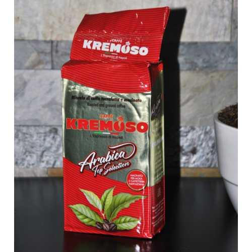 Arabica Top Selection - 70% Arabica und 30% Robusta - gemahlener Kaffee - 0,25 kg - Kremoso Caffe
