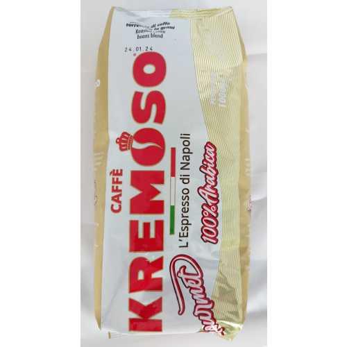 Gourmet - 100% Arabica - Kaffee in Bohnen - 1 Kilogramm - Kremoso Caffe