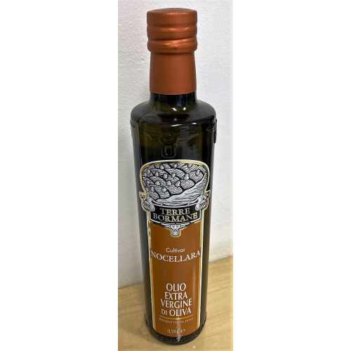 Nocellara - Extra Natives Olivenöl - 0,5 Liter - Oliven-Öl - Terre Bormane