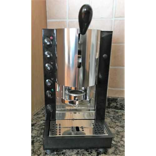 k: Pinocchio CA - Schwarz-Edelstahl - Padhalter - Kaffee und Heisswasser - Spinel