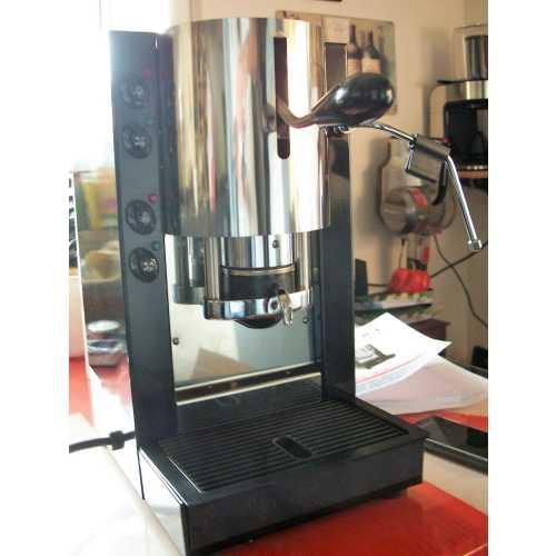 c: Pinocchio CV - Schwarz-Edelstahl - Kaffee und Dampf - Spinel