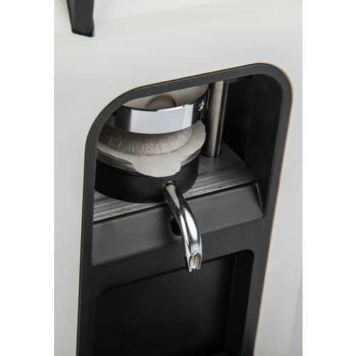 Ciao Elite C - Silbergrau-Metallic - Electronic-Kit - Kaffee - Spinel