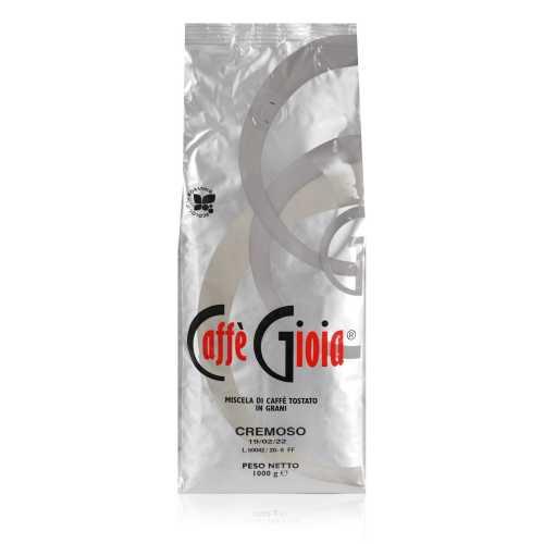 Cremoso 100% Robusta - Ökologische Röstung - Kaffee in Bohnen - 1,0 Kilogramm - Caffe Gioia