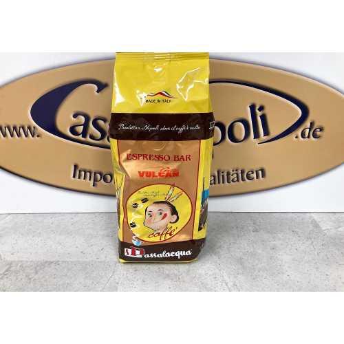 Kopie von Black Vulcan - 30% Arabica und 70% Robusta - Kaffee in Bohnen - 0,5 Kilogramm - Passalacqua Caffe