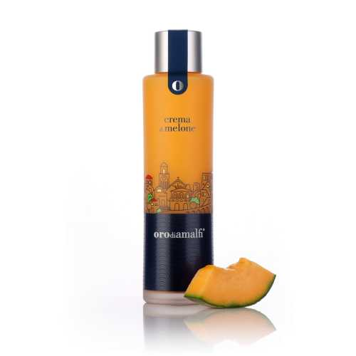 Melonen Creme aus Amalfi - Crema di Melone - 0,5 Liter - 17 vol. - Flasche: Thai - LOro di Amalfi