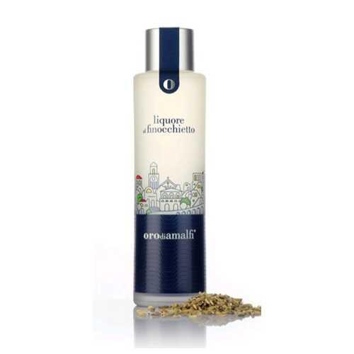Fenchel Likör aus Amalfi - Finocchietto - 0,5 Liter - 30 vol. - Flasche: Thai - LOro di Amalfi