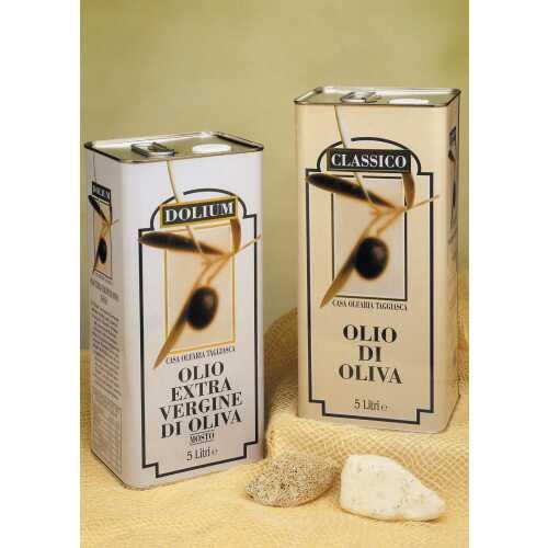 Bormano Qualita Taggiasca - Extra Natives Olivenöl - 2,0 Liter - Oliven-Öl - Terre Bormane
