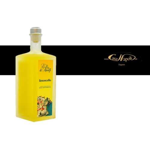 Limoncello aus Amalfi - 0,5 Liter - 35 vol. - Flasche: Rombo - LOro di Amalfi